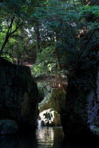穂田琉の近隣の雨滝